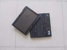 for lenovo thinkpad x200 tablet touch screen used laptop for car diagnostic with battery hot selling(China)