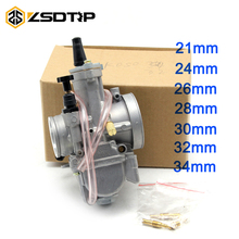Buy ZSDTRP Motorcycle 4 stroke KOSO ZSDTRP KEIHIN OKO 24 26 28 30 32 34 mm Carburetor Power Jet Fit Race Scooter ATV UTV for $11.58 in AliExpress store