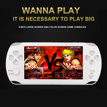 "5.0"" HD screen Portable Multimedia Player Digital Video Camera 8GB Handheld game consoles MP3 MP4 player Video Games e-books(China)"