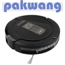 PAKWANG A325 Robotic Vacuum Cleaner for Pets and Allergies Home, Black