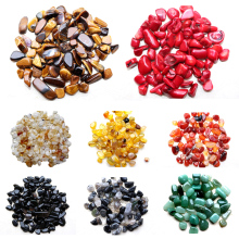 LNRRABC Natural Red Green Seal Gravel White Crystal Gravel Crafts Accessories Filling For DIY Jewelry