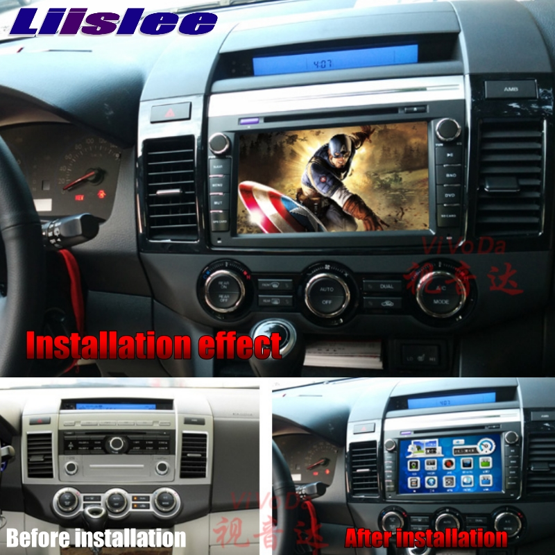 For Mazda MPV LY For Mazda8 2006~2018 LiisLee Car Multimedia TV DVD GPS Audio WiFi Radio Stereo Android 8\' inch Navigation NAVI