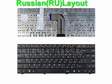 New RU Russian Keyboard for ECS MB40 BLACK RU Laptop Keyboards MP-09P86SU-3602
