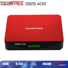 Digital satellite receiver tocomfree S929ACM full hd support wifi for South America