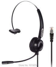 Call Center Headset Headphone with Mic ONLY for P lantronics M11 M22 Amplifier and CISCO IP Phones 7940 7960 7821 9941 6921 etc