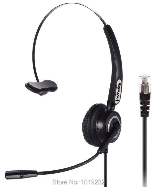 Call Center Headset Headphone with Mic ONLY for P lantronics M11 M22 Amplifier and CISCO IP Phones 7940 7960 7821 9941 6921 etc(China (Mainland))