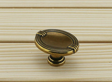 Vintage Antique Cabinet Drawer Pulls Door Handles - Art Deco (Size:36*28mm)