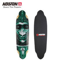 Koston Professional Longboard Deck 36.7 Inch*10 Inch Deck 9ply Canadian Maple Laminated Board Downhill Racing Skateboard Decks