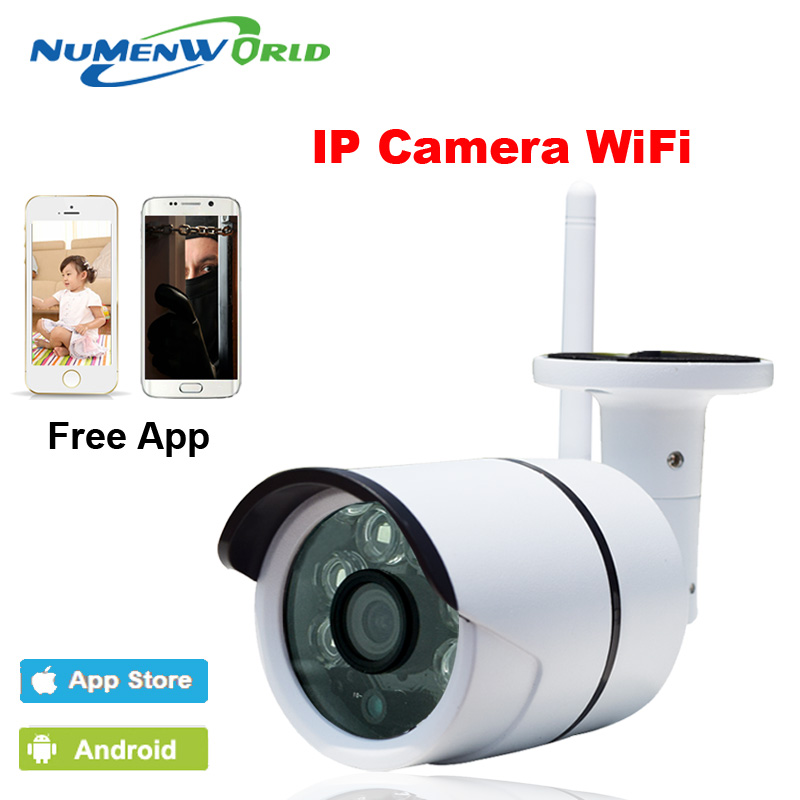 Wifi 1.3MP Megapixel Wireless IR Network IP camera 960P HD Outdoor Video surveillance security camera SD Card slot NuMenworld<br>