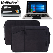 Unidopro Classic Notebook Sleeve Briefcase for Jumper EZbook 3 Windows 10 Intel Celeron N3350 14inch Mallette Carrying Bag Cover(China)