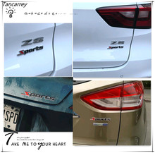 2017 hot 3D metal Car logo Stickers Accessories Styling For passat b6 vw chevrolet lacetti hyundai creta ford focus lada kalina(China)