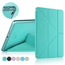 Case for iPad mini 1 2 3 PU Leather cover glitter soft silicone back cover tablet case ultrathin TPU shell coque housing(China)