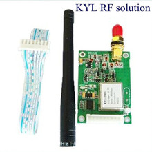 500mW 433 mhz transceiver receiver 400-470mhz rs485/ttl/rs232 wireless data transceiver module for queue call system KYL-200L(China)