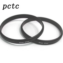 PCTC 2PCS 67mm-67mm 67 to 67 Macro Reverse Ring Filter Adapter for 67 to 67 mm lens Mount For extension tubes adapter