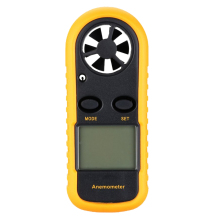 Digital GM816 LCD Digital Handheld Wind Speed Gauge Meter Measure Anemometer Thermometer(China)