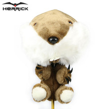 Golf club Head Cover Plush Cartoon Animal  Headcover #1 driver wood headcover free shipping
