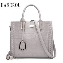 Fashion Stone Women's Handbags Luxury Belt Crossbody Bags For Women Bag Big Casual Tote Bag Knitting Ladies Hand Bags New Sac(China)