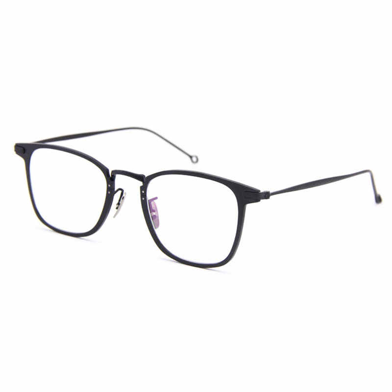 2c75a70aac Detail Feedback Questions about Fashion Eyeglasses Optical Prescription  Pure Titanium Glasses Frame for Man Eyewear Spectacles Frame Specs Male  Glasses ...