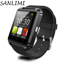 SANLIMSmartwatch Bluetooth Smart digital sport Watch U8 WristWatchfor Android phone Wearable Electronic Device Good as GT08 DZ09