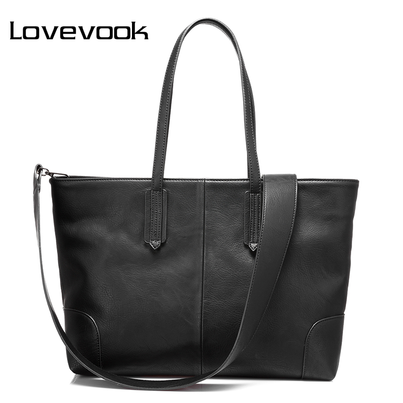 LOVEVOOK women handbags large capacity shoulder crossbody bag female messenger bags ladies high quality PU tote bags 2017 retro<br>