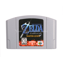 Nintendo N64 Video Game Cartridge Console Card The Legend of Zelda Ocarina of Time Master Quest English Language US Version(China)