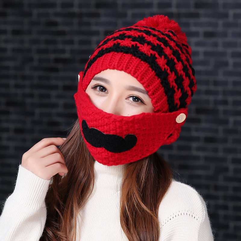 2017 Hot Fashion Womens Cotton Casual Ring Warm Beanie Cap Winter Autumn Women Knitted Hats Lady Beanies Outdoor Ski PartyОдежда и ак�е��уары<br><br><br>Aliexpress