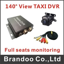 1 channel CAR DVR With 140 Degree Camera For Taxi Private Car