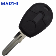 maizhi 1 Button Car-Styling Remote Car Key Shell Case For Fiat Transponder Car Key Shell Blank Case Cover No Chip Fob(China)