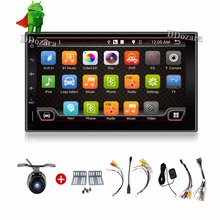 Quad Core Newest 2 Din Pure Android 6.0 Universal Car Dvd Player Pc Gps Navigation Stereo Video Multimedia Capacitive Screen(China)