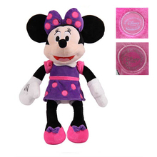 Cute Mickey Minnie Plush Toys 60cm 65cm Minnie Mickey Stuffed Animals Kids Gift Baby Doll Soft Toys for Children pelucia/peluche