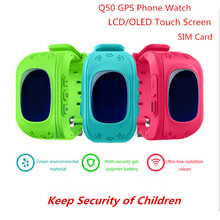 GPS Kid Smart Watch for Apple Android SOS Call  Anti-Lost Monitoring Positioning Finder Tracker q50 Baby Smart Wristwatch gw200s