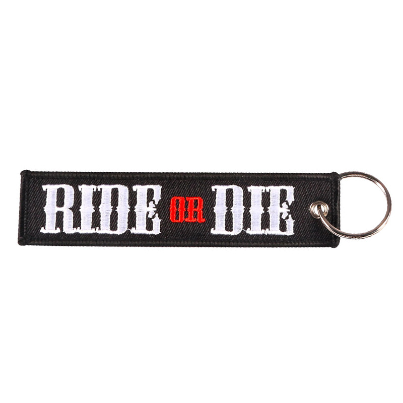 RIDE OR DIE MOTOCYCLE KEYCHAIN3