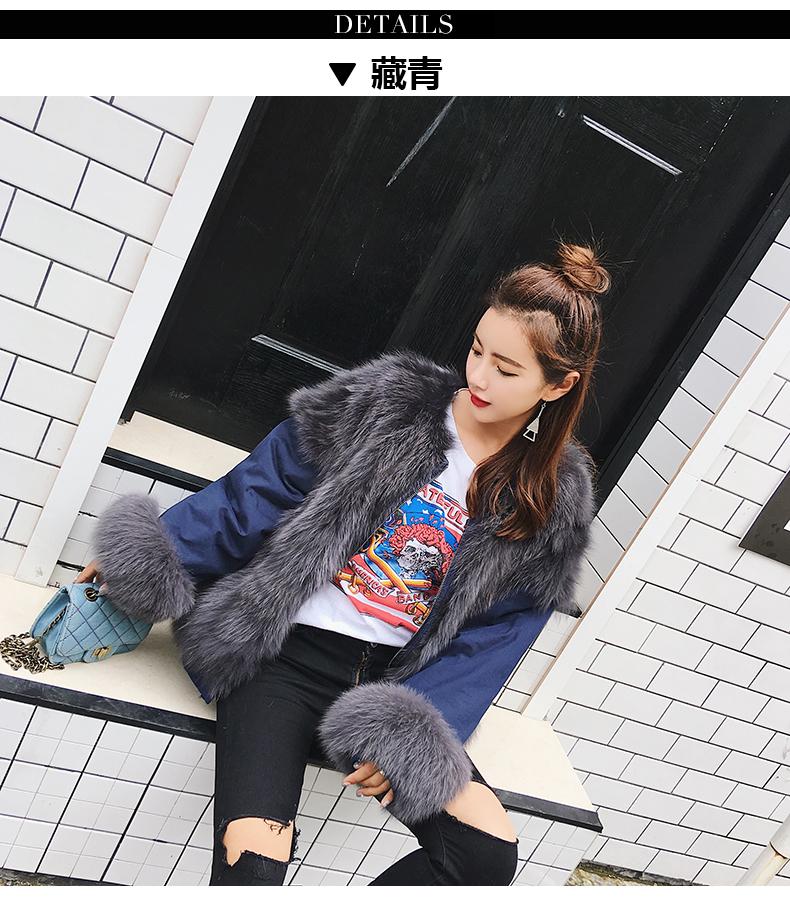 new styles fox fur jacket for women (4)