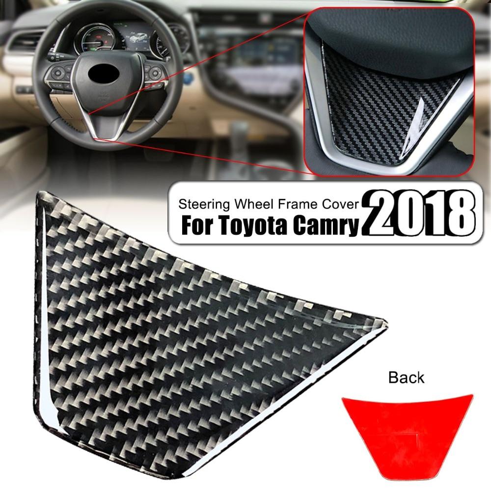 Car-Interior-Steering-Wheel-Frame-Sticker-Cover-Trim-Carbon-Fiber-Decoration-Sticker-for-Toyota-Camry-2018