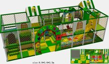 2014 TUV Certificated IndoorPlayground/Nursery Indoor Playground Set/ School Playground System Direct Manufacturer Top Quality(China)