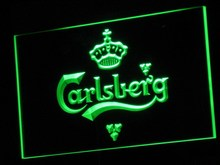 a010 Carlsberg Beer Bar Pub Displays LED Neon Sign with On/Off Switch 20+ Colors 5 Sizes to choose(China)