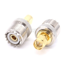 RF coaxial coax adapter SMA to UHF SO239 connector SMA male to UHF female Jack SO239 adapter free shipping(China)