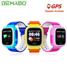 Lemado Kids GPS Smart Watch Q90 Touch Screen WIFI Watch Phone Child SOS Call tracker Device Anti Lost Monitor for Baby Gift