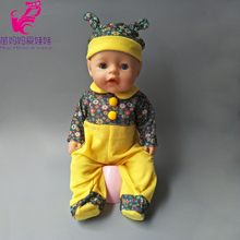 Pants+Cloth+hat Set for 43cm Zapf Baby Born Doll new born baby dolls wear set 18 inch doll clothes