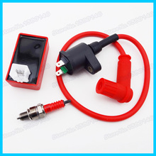 Racing Ignition Coil Spark Plug AC CDI Box A7TC For Pit Dirt Bike CRF50 Chinese ATV Quad  Motorcycle Motocross