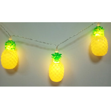 3m Pineapple Led String Lights, Watermelon Led, Tropic Wedding Idea, Happy Birthday Decor, Hawaii Trend Party Supply, 30 led