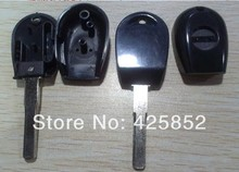 2000-2004 Alfa Romeo 166 Transponder Key Shell With SIP16 Blade Black Alfa Transponder Key Blanks Cover