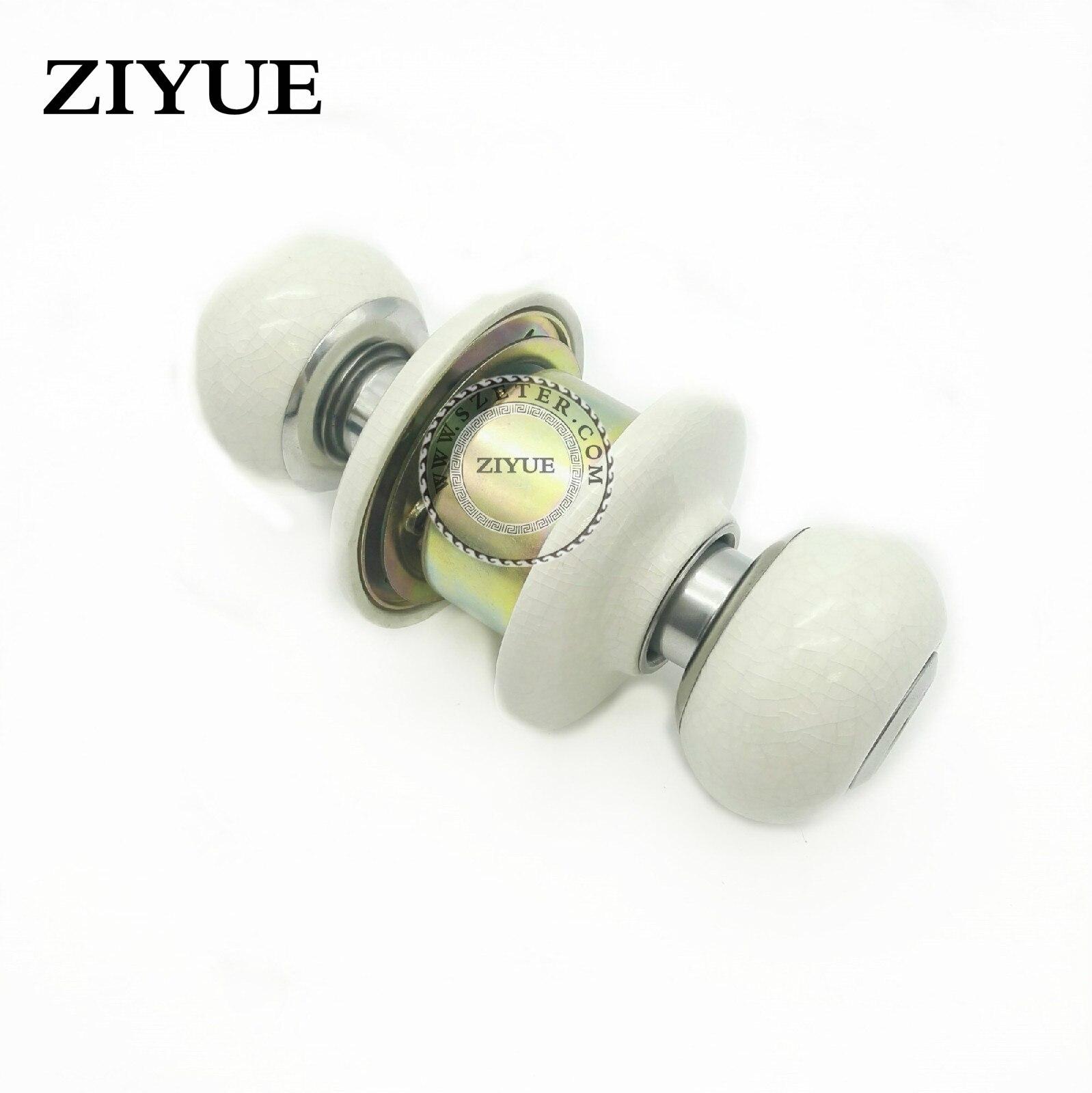 Free Shipping Ceramic Lock Cylinder  Door Lock Room Lock Mechanical   Bathroom r Lock<br>