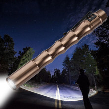 Flashlights on a bicycle Cycling Bike Head Front Light Bicycle Light Tactical Mini Pen Pocket XP-E R2 LED 1000LM A10