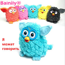 [Bainily]New Electronic Toys phoebe 7 Color Electric Pets Owl Elves Plush toys Recording Talking Toys Gifts with Furbiness boom