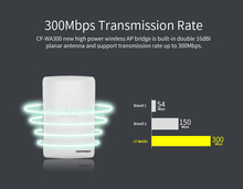 COMFAST wifi access point 300mbps 2.4g long range for wifi coverage AP out door wifi router signa amplifier CF-WA300(China)