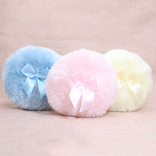 Professional Butterfly Baby Cosmetic Villus Powder Puff Sponge for Talcum Powder Makeup Cosmetic Plush sponges(China)