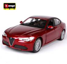 NEW ARRIVAL Maisto Bburago 1:24 Alfa Romeo GULIA Sports Car Model Diecast Model Car Toy For Kids Gifts With Box Free Shipping