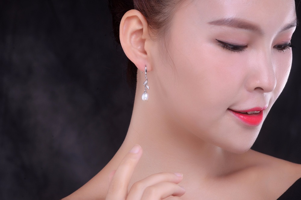 pearl drop earring fine jewelry