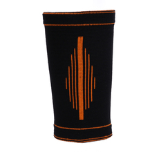 1Pair Breathable Hand Wrist Support Band Protector Brace Elastic Injury Sport Black+Orange
